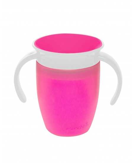 Munchkin Miracle 360° Trainer Cup 207ml Pink 12272