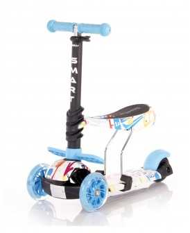 Lorelli Πατίνι Smart Scooter με κάθισμα Tracery Blue 10390020003